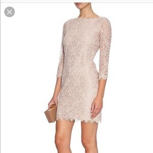 Diane Von Furstenberg Zarita Lace Zipper Dress